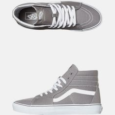 14200a44ab ... constructionSide stripe detail Vans signature waffle outsoleVans label  detailContrast stitching Size Guide Womens Hi-Top SneakersSizes are in US  sizes