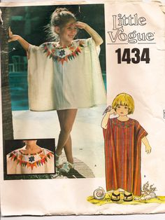 Child's Caftan with Embroidery