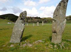 standing stones scotland | Standing Stones, Kilmartin Glen, Scotland