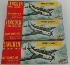 AVIATION : FAIREY GANNET MODEL KIT MADE BY LINCOLN INTERNATIONAL KIT NO.112