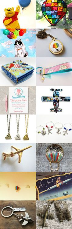 Up, Up, And Away by Julie and Kate on Etsy--Pinned+with+TreasuryPin.com