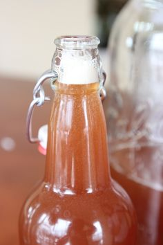 My Kombucha Is Done, Now What?...And How To Bottle Kombucha Tea ~ {Part 3}