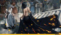 Wlop,Wang Ling,artist,Fantasy,Fantasy art,art,арт,красивые картинки,ghost blade