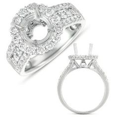 14k 1.12 Dwt Diamond White Gold Engagement Ring - JewelryWeb. http://todaydeals.me/viewdetail.php?asin=B005VCKM0U
