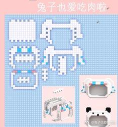 3d Perler Bead, Diy Perler Beads, Pearler Beads, 3d Pixel, Pixel Art, Hama Art, Easy Perler Bead Patterns, Kawaii Diy, Iron Beads