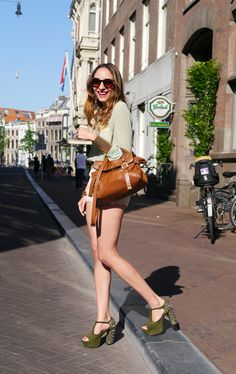 Virgid Canaz in Amsterdam Amsterdam Street Style, Off Duty, Ss, London, Chic, Casual, Model, Inspiration, Fashion