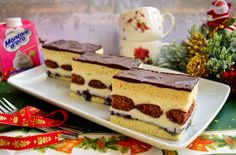 Sweets Recipes, Cooking Recipes, Romanian Desserts, Tiramisu, Cheesecake, Food And Drink, Ice Cream, Diet, Cookies