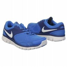 Athletics Nike Men's Flex Run Blue/White Almost 5 stars outta 5; I tried these on - so comfy and am purchasing