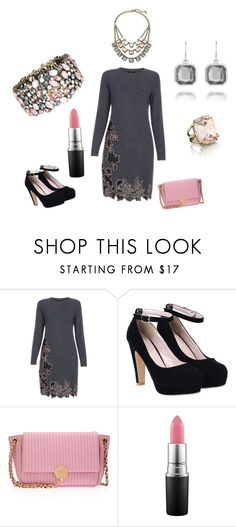 """""""Pretty in pink. Jewelry by Chloe and Isabel. HTTPS://www.chloeandisabel.com/boutique/traceymertens"""" by mertensmk on Polyvore featuring Paul Smith, Henri Bendel, MAC Cosmetics, Chloe + Isabel, women's clothing, women, female, woman, misses and juniors"""