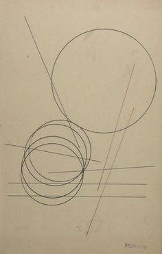 Aleksandr Rodchenko. Linear Construction. (1920)