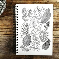 "236 Likes, 3 Comments - Yoyo Ira (@yiramee) on Instagram: ""Isn't Fall just the perfect excuse to draw leaves and leaves and leaves  . . . . . . . . . . . .…"""