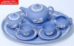 Wedgewood Blue Jasper ware...