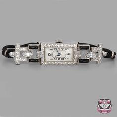 Antque Art Deco Diamond Watch