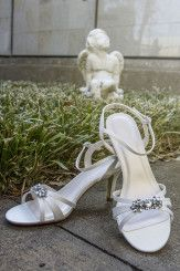 Catholic Wedding in Plano Texas. Wedding Dress: David's Bridal.   Wedding Shoes: David's Bridal.  Wedding Photography: www.lightringpro.com