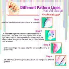 DIY Nail Art Design @ khoobsurati.com Visit for nail care kit:- http://khoobsurati.com/women/make-up/nail-art Visit for tutorial:- https://www.youtube.com/watch?v=db0Qhs3x534