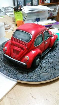 This is a carved madiera car cake….I usually don't really enjoy doing car cakes, get nervous about getting the shape right. They're tricky little beggars and usually are ordered for car fanatics so you know they'll be scrutinised by the...