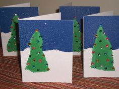 craft cards | Christmas Card Crafts