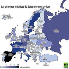 ¿Quiénes son los más ricos de Europa?