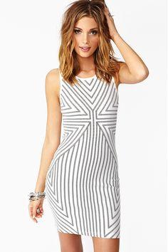 Vanishing Point Dress