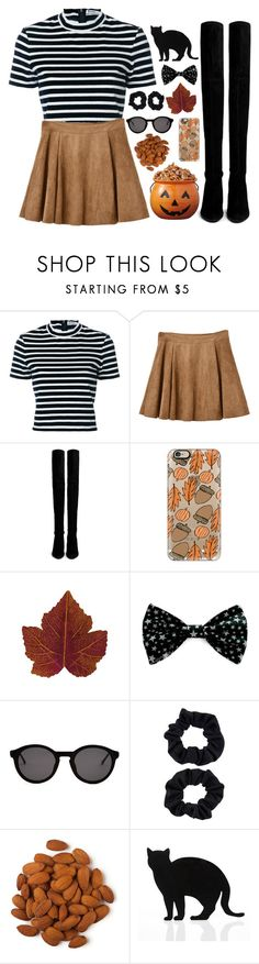 """""""Happy October 1st"""" by maribel on Polyvore featuring T By Alexander Wang, Stuart Weitzman, Casetify, Thierry Lasry, Accessorize, 157+173 designers, fallstyle, fallset, octobersets and marisoutfits"""