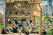 March 1, 1562 – 23 Huguenots (Protestants) are massacred by Catholics in Vassy, France, marking the start of the French Wars of Religion.