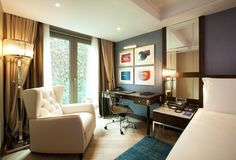 / Our standard room. Office Desk, Corner Desk, Class Room, Business Class, Furniture, Guest Room, Home Decor, Photos