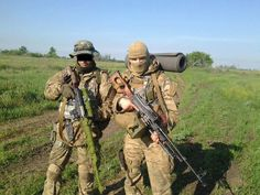 Pro-Russian Special Forces in a Operation in Ukraine.