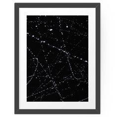 Cooles Poster, ideal für schwarz/weiße Dekoration:  POSTER Dazed + Confused [Black] von  Galaxy Eyes #hellosunday