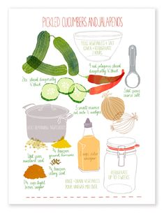 How to make pickles - Claudia Pearson