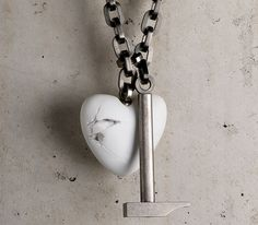 """""""The cracks signify the wearer's grief, anger or disappointment."""""""