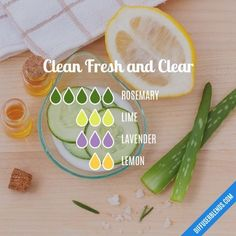 Clean Fresh and Clear - Essential Oil Diffuser Blend