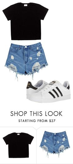 """""""clásico"""" by juliadb on Polyvore featuring Boohoo and adidas"""