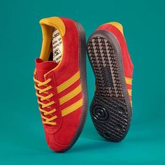 Thanks to the dedication of @gary.aspden and his talented Three Stripes comrades the adidas Spirit will see new life in the FW17 SPEZIAL line-up reimagined as the Spiritus SPZL. Making its debut in classic Spirit colours these Trefoil trainers are pure vintage vibrance. Available from September 22 through select stockists.  via SNEAKER FREAKER MAGAZINE OFFICIAL INSTAGRAM - Fashion  Advertising  Culture  Beauty  Editorial Photography  Magazine Covers  Supermodels  Runway Models