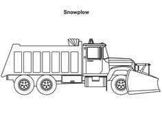 Trucks, : 2-axle-snow-plow-coloring-page.jpg