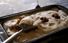 Fig and Candied Walnut Ice Cream | Pass the Cocoa