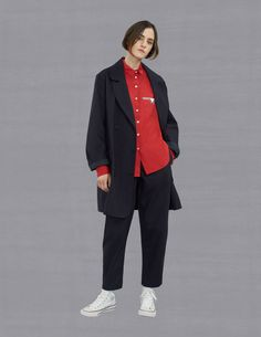 See the complete Maison Kitsuné Fall 2017 Ready-to-Wear collection.