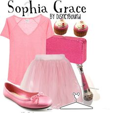 """""""Sophia Grace"""" by lalakay ❤ liked on Polyvore"""