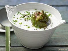 Суп с маринованным щавелем