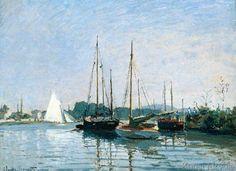 Claude Monet - Bateaux de plaisance, Argenteuil