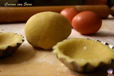 Pasta frolla - ricetta perfetta, per biscotti e crostate che mantengono la loro forma durante la cottura. Ricetta senza lievito.