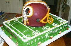 Football Helmet Cake, Happy 40th, Toys, Desserts, Tailgate Desserts, Deserts, Toy, Dessert, Games