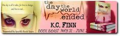 BOOK BLAST - The Day The World Ended by K.C. Finn - #Horror, #Young_Adult, #Zombies, Sparkle Book Tours  (May)