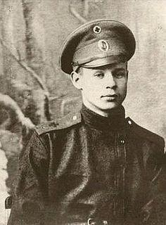 Sergei Yesenin, Russian poet.