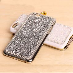 New Style Luxury Crystal Rhinestone Cover Case For Iphone Fashional Bling Diamond Phone Case For Iphone 6 6s PT4050