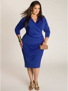They sell the best clothing for plus size women.....IGIG Lubov dress