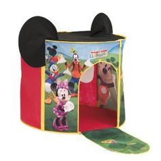MICKEY MOUSE CLUB HOUSE PLAY TENT REVIEW - Annette - Zimbio  sc 1 st  Pinterest & Crayola Color Explosion Cars 2 Glow Board 3D by Crayola http ...