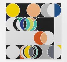 Annual Solar Eclipse [Rio] - Sarah Morris - 2013   (White Cube Gallery)