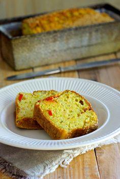 Cake au yaourt, carotte, courgette ◊ CommonCook