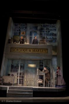 A Christmas Carol - The McCarter Theatre, Set design Ming Cho Lee
