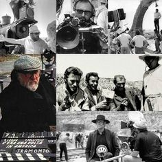 """The important thing is to make a different world to make a world that is not now. A real world a genuine world but one that allows myth to live. The myth is everything."" Sergio Leone  Fun Fact : Although they did not work together until 1964 as children Leone and composer Ennio Morricone were classmates.  Aside from saying 'Goodbye' Sergio Leone never spoke a word of English and always relied on a translator when talking to American actors. According to an interview with Eli Wallach he…"